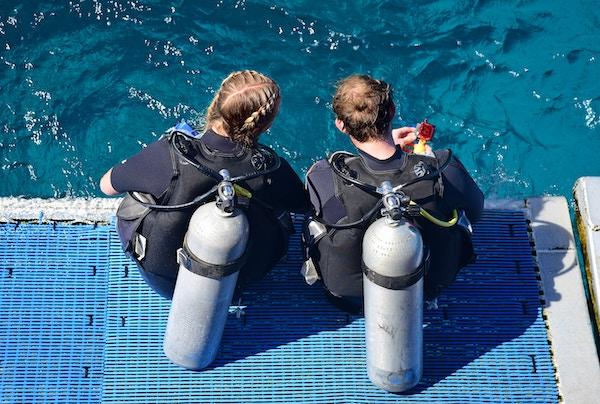 Curso proveedor de oxigeno PADI-FECDAS Divers centro de inmersiones