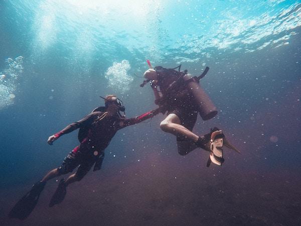 Curso de buceo PADI rescued en divers platja d'aro